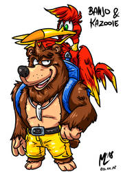 Banjo und Kazooie| FreeArt #87 by blue-hugo