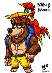 Banjo und Kazooie| FreeArt #87 by blue-hugo