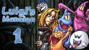 LLL - Luigi's Mansion reThumbnail by blue-hugo