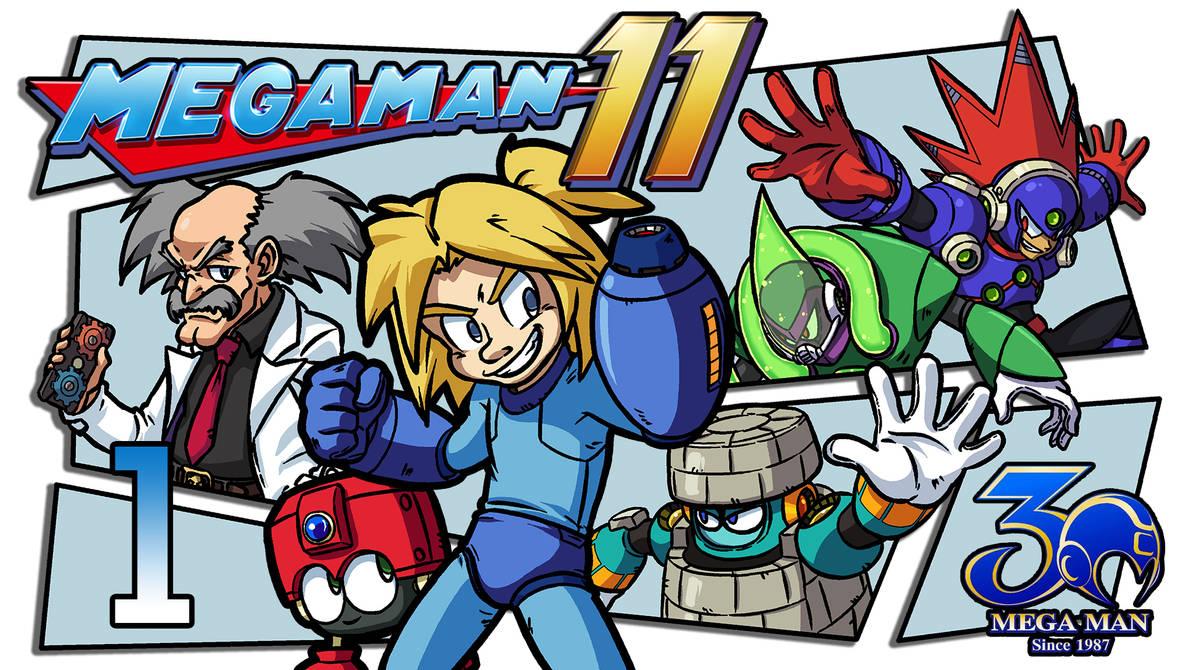 LLL - Mega Man 11 Thumbnail by blue-hugo