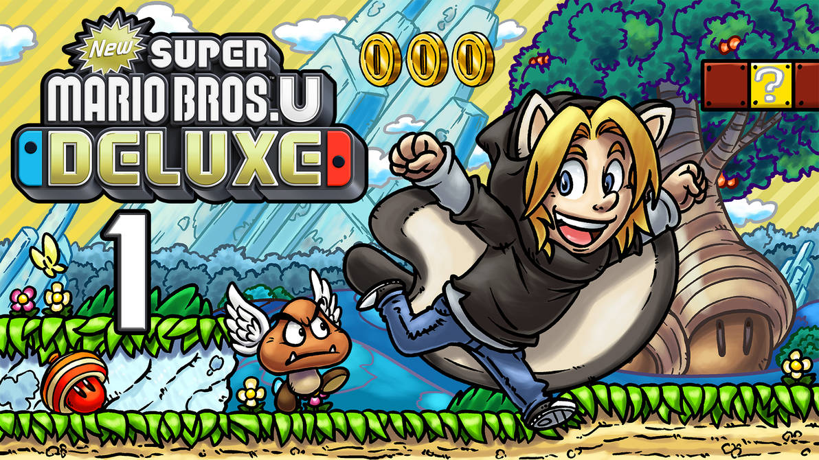 LLL - New Super Mario Bros. U Deluxe by blue-hugo