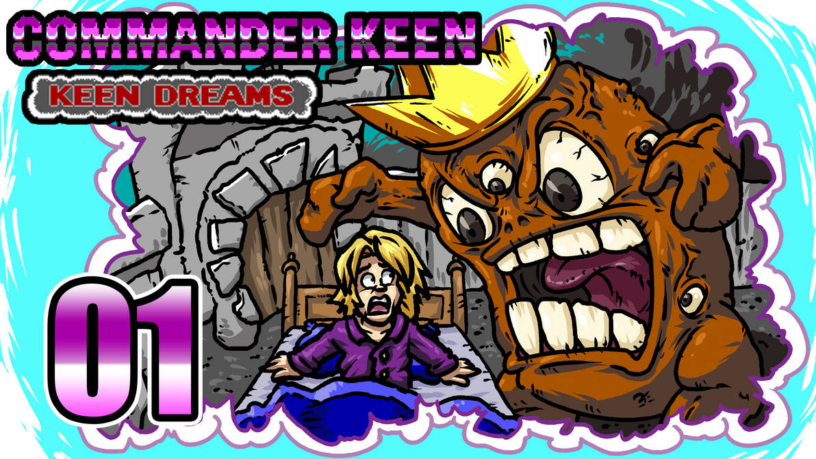 LLL - Commander Keen Dreams Secret-Thumbnail by blue-hugo