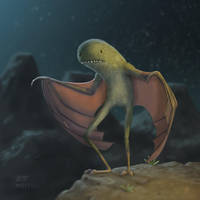 Night Flighter by AndrewMcIntoshArt