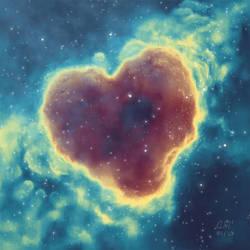 Goodnight Nebula by AndrewMcIntoshArt