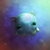 Dumbo Jellypus by AndrewMcIntoshArt