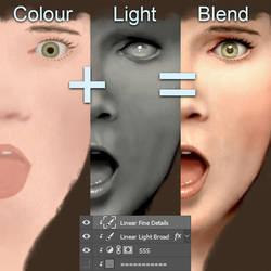 Light Study 020 by AndrewMcIntoshArt