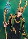 Loki by ZoeStanleyArts