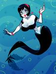 Lucy The Mermaid by ZoeStanleyArts