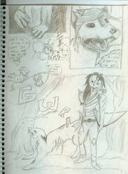 Page one Of... by PsycoEmoRainbow