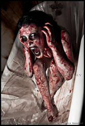 Blood Shower Scream by Anathema-Photography