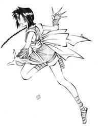 RK - Misao, the Ninja by Sayuni