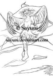 Fairy WIP by Sayuni
