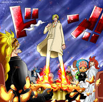 865 colored one piece by Samanta95
