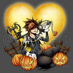 Halloween Town Sora by xariin