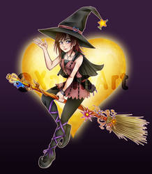 Witch Kairi by xariin