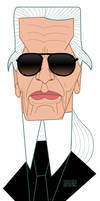 Karl Lagerfeld by MissMatzenbatzen