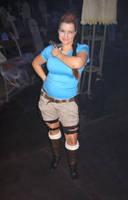 me as Lara Croft by MissMatzenbatzen