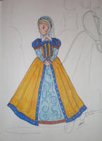 Young Dutchess Gown Design by LadyJamie
