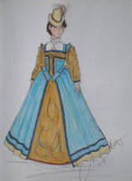Michelle's Court Gown 2.0 by LadyJamie