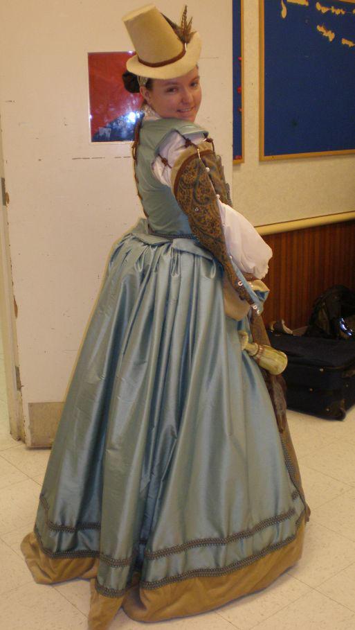 Blue dress WIP by LadyJamie