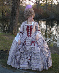 Georgian Ball Gown by LadyJamie
