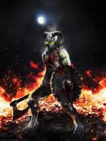 Demon Warrior by colrath