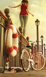 On The Pier by Conlaodh