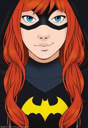 Batgirl close up by SoLaNgE-scf