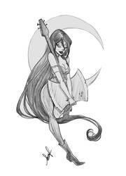 Marceline sketch by SoLaNgE-scf