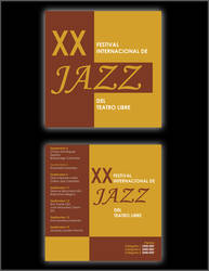 JAZZ FESTIVAL FLYER by MUTILADOR