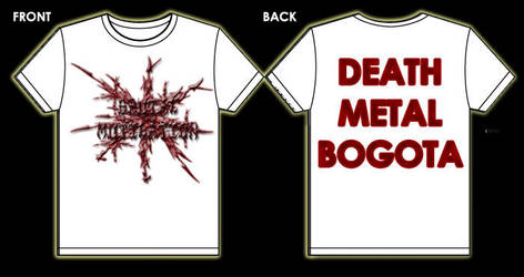 Brutal Mutilation t - shirt 1 by MUTILADOR