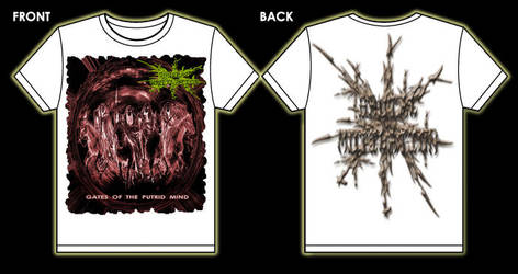 Brutal Mutilation t - shirt 2 by MUTILADOR