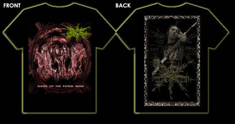 Brutal Mutilation t - shirt 3 by MUTILADOR