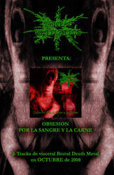 flyer album BRUTAL MUTILATION by MUTILADOR