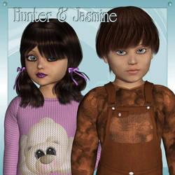 Hunter and Jasmine K4, by Art by Athene by FantasiesRealmMarket
