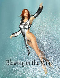 Blowing in the wind, by NGartplay (exclusive) by FantasiesRealmMarket