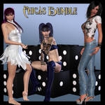 Chicas exclusive bundle, by Heavenlee Designs by FantasiesRealmMarket
