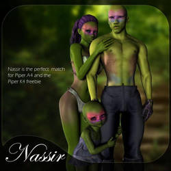 Nassir and Piper bundle, by RenderCandy by FantasiesRealmMarket