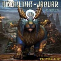 Moonlight Jaguar, by Summoner by FantasiesRealmMarket