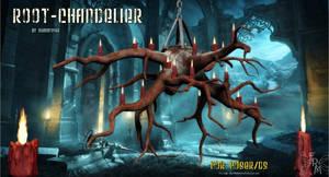 Root Chandelier, by Summoner (freebie) by FantasiesRealmMarket