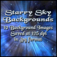 Starry Night backgrounds (freebie)by Napalmarsenal by FantasiesRealmMarket