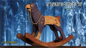 Rocking Griffen (freebie) by Summoner by FantasiesRealmMarket
