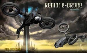 Remore Drone (freebie) by Summoner by FantasiesRealmMarket