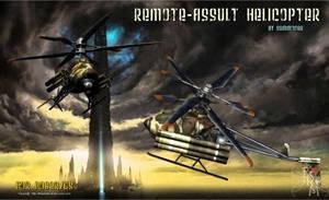 Remote Assault Heli (freebie) by Summoner by FantasiesRealmMarket