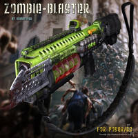 Zombie Blaster, by Summoner by FantasiesRealmMarket
