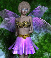 Floral Fairy outfit V4 A4, by Prae by FantasiesRealmMarket