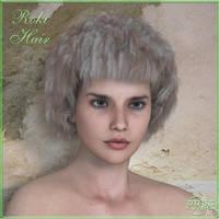 Roki hair V4/A4/H4/M4 and Genesis, by Prae by FantasiesRealmMarket