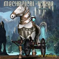 Mechanical horse, by Summoner by FantasiesRealmMarket