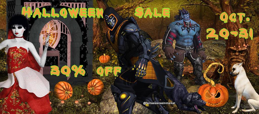 October banner (3) by FantasiesRealmMarket