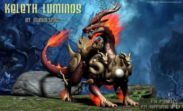 Keleth Luminos, by Summoner (freebie) by FantasiesRealmMarket